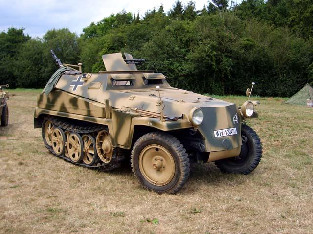 Sd kfz 251 ханомаг