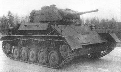 Лёгкий танк т 80
