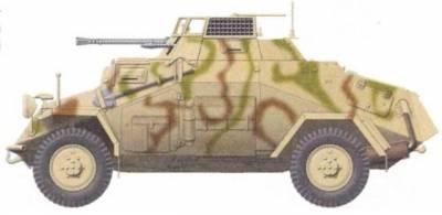 Легкий пушечный бронеавтомобиль sdkfz